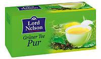 Чай зелений Lord Nelson Pur (25пакетів по 1,75гр.).