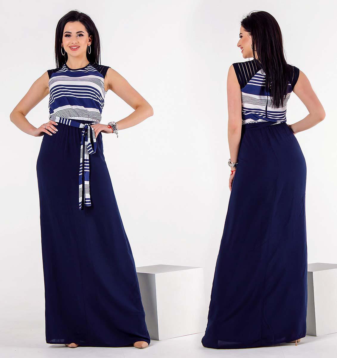 4920826e187 Элегантное летнее длинное платье 1267
