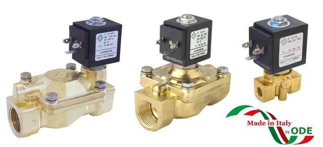 Электромагнитный клапан для воды ODE (Italy)