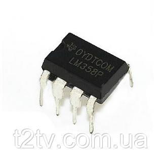 Чип LM358P LM358 DIP8 усилитель