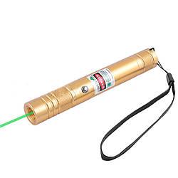 Фонарь-лазер зеленый LM-206, встроенный аккумулятор
