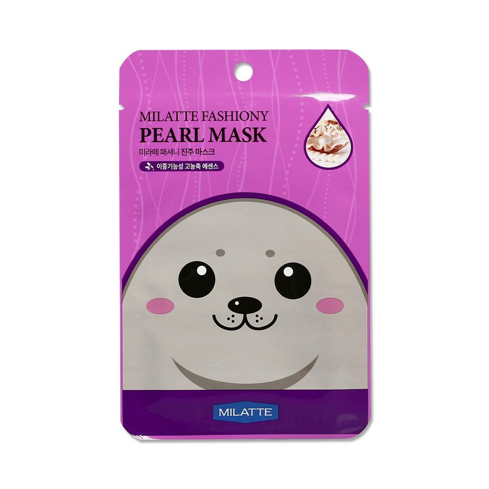 Маска для лица с экстрактом жемчуга Milatte Fashiony Mask Sheet Pearl
