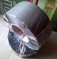 Полипропиленовая лента черная 16мм х 0,8мм х 1500м