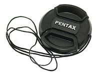 Крышка Pentax диаметр 49мм, со шнурком, на объектив