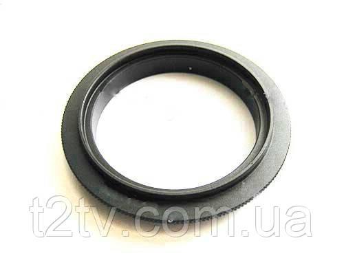 Реверсивный макро адаптер Canon EOS 55мм, кольцо