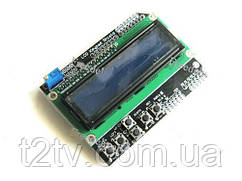 LCD Keypad Shield модуль Arduino с 1602 ЖК-дисплеем