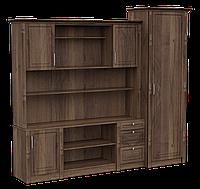 Стенка- помощник с гардеробом, офисная мебель