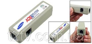 Телефонный RJ11 ADSL сплиттер