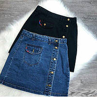 Женская модная джинсовая юбка карандаш, фото 1