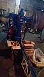 Пресс-брикетировщик ударно-механического типа для производства брикетов из соломы, фото 4