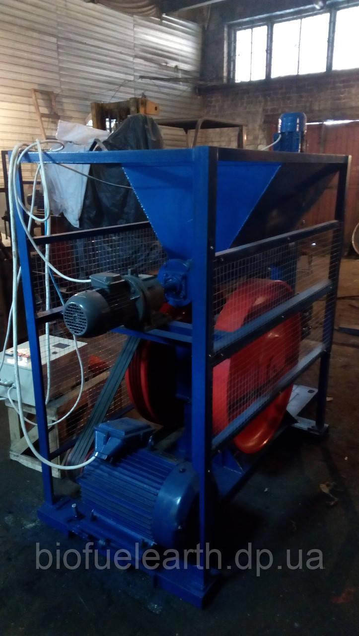 Топливные брикеты из пресса ударно механического, фото 1