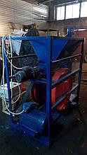 Виробництво брикетів з лузги і тріски