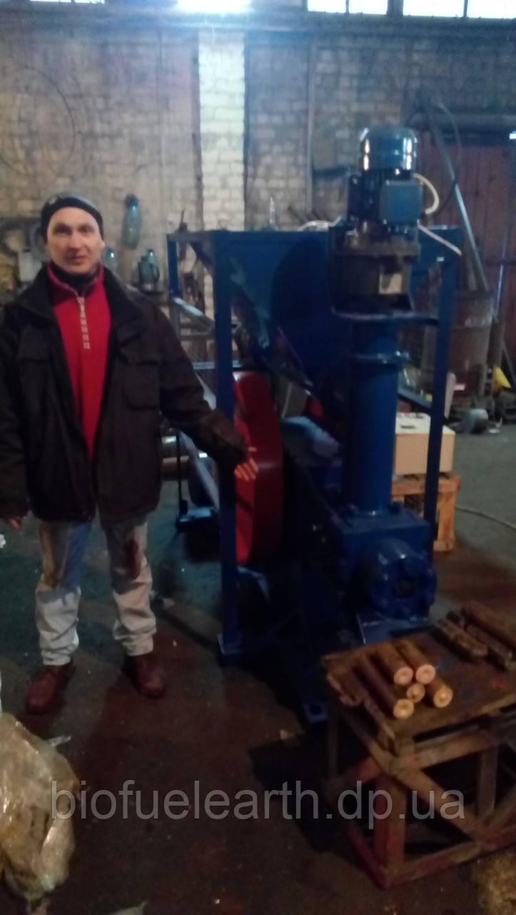 Пресс Ударно механический для изготовление биомасс,соломы,шелухи,щепы,элеваторных отходов, фото 1