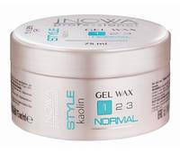 Гель-воск для нормальной фиксации, jNOWA Professional Style Gel Wax обьём 75 мл