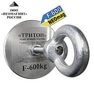 Поисковый неодимовый магнит F600, 800кг, Тритон, ООО НЕОМАГНИТ, суперкачество+трос