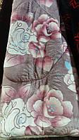 Покрывало-одеяло меховое 210х230. Розовые розы