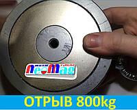 Двухсторонний поисковый магнит ТРИТОН F600*2, 800кг, N42, самый мощный в УКРАИНЕ