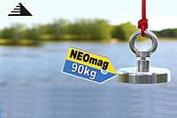 Поисковый неодимовый магнит F80, 90кг, Тритон, ООО НЕОМАГНИТ, суперкачество