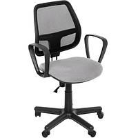 Кресло офисное Alfa GTP серо-черное