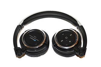 Наушники Bluetooth AT-BT811 (гарнитура) с микрофоном. Цвета: черный, белый. пульт управления