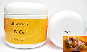 Гель All Season Pink 113 ml прозрачно-розовый