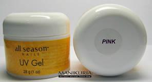 Гель All Season Pink 30 ml прозрачно-розовый