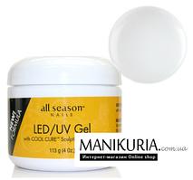 Гель All Season LED/UV 113 гр Clear, прозрачный гель