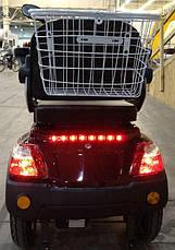 Трехколесный электроскутер Vega Help 500W60V red 2019, фото 3