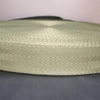 Тесьма-лента ременная производство 30мм хаки (50 метров)