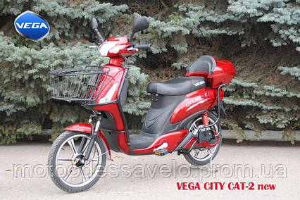 Электроскутер Vega City cat- 2, фото 2