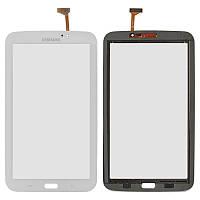 Оригинальный сенсорный экран Samsung P3200 Galaxy Tab 3 7.0 WiFi белый (тачскрин, стекло в сборе)