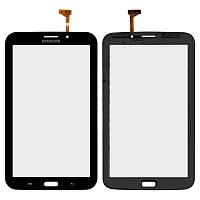 Оригинальный сенсорный экран Samsung P3200 Galaxy Tab 3 7.0 3G черный (тачскрин, стекло в сборе)