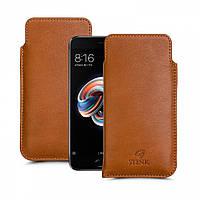 Футляр Stenk Elegance для Xiaomi Mi Note 3 Camel