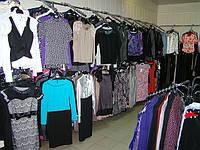 Отдел женской одежды в магазине Каштан