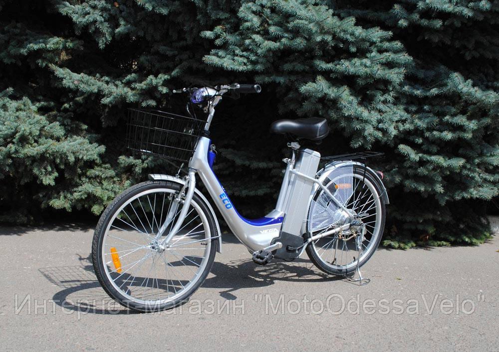 Электровелосипед Vega Eco blue
