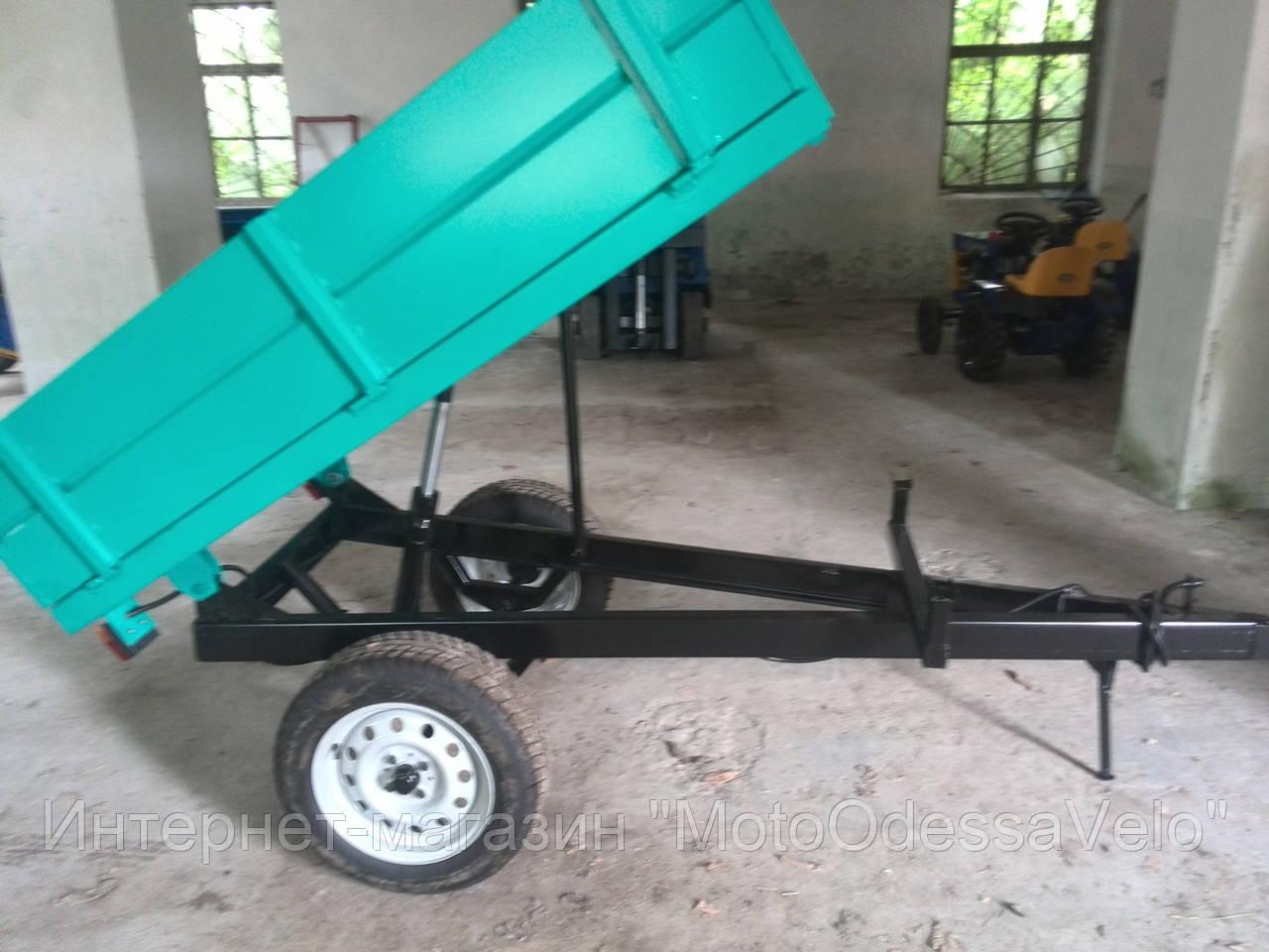 Прицеп  самосвал 1ПТС-1 для трактора