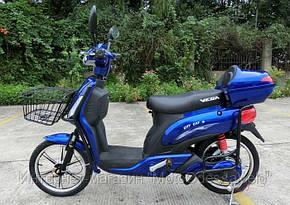 Электроскутер Vega City cat  2 blue, фото 2