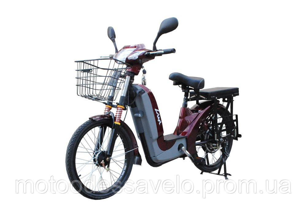 Электровелосипед Vega Lama Red 2018