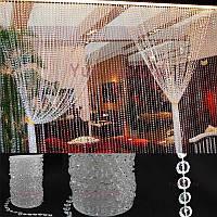 Акриловые кристаллы для декору, цена за 1 м