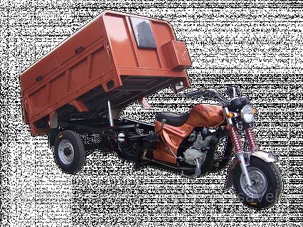 Трицикл Hercules Q1 -200 cleaner самосвал, фото 2