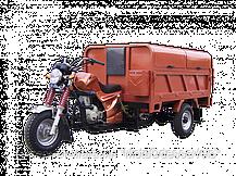 Трицикл Hercules Q1 -200 cleaner самосвал, фото 3