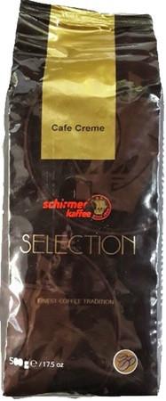 Кофе Schirmer Kaffee Selection Cafe Creme в зернах 500 г