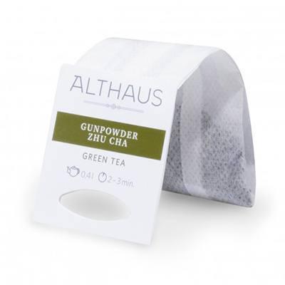 Зеленый чай Ганпаудер Жу Ча Althaus фильтр-пак 80 г