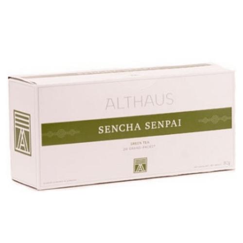 Зеленый чай Сенча Сенпай Althaus фильтр-пак 80 г