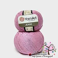 Пряжа Джинс Jeans YarnArt, №20, розовый