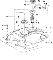 Шланг топливный ф5*ф9* 1000mm Speed Gear 500