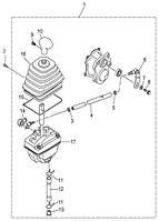 Селектор выбора передачи Speed Gear 500