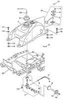 Декоративная накладка топливного крана Speed Gear 500