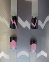 Виниловые трафареты для дизайна ногтей Konad № 37