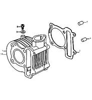 Прокладка цилиндра двигатель Skymoto P152QMI (GY6)